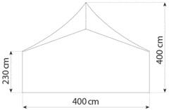 Pagode 4m